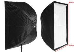 Softbox Sombrinha 60x90 Universal para iluminação e estúdio ideal para fotografia e filmagem