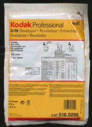 Revelador Kodak D-76 Rende 3.8 Litros (1 Galão)