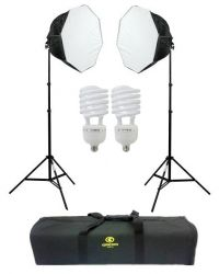 Kit Ágata III (270 W) Soft Light Octogonal 60 cm Luz Fria
