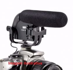 Microfone Condensador Direcional para Filmagem BOYA BY-VM190