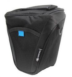 Bolsa Greika XF-026R Para Câmera DSLR e Pequenos Acessórios