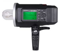 Flash com bateria AD600BM Witstro Tocha Greika Godox HSS 1/8000s