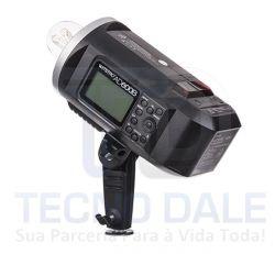 Flash com  Bateria AD600B  TTL Profissional Witstro