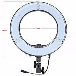 Iluminador RL 12 Led Ring Light Circular (Sem Tripé)