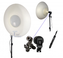 Difusor Circular Beauty Dish  Led 6500k  220V