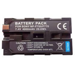 Bateria Similar Modelo Sony NP-F750