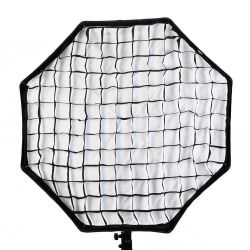 Octobox Softbox C/ Grid Univesal Bowens Greika 120 Cm