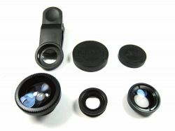Kit  P/ Fotografia Mobile para Smartphone e Tablet com tripés e lentes  -  6pçs.