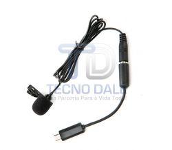 Microfone Condensador Omni Direcional BY - LM20.