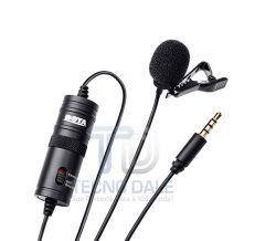 Microfone de Lapela Omni Direcional BOYA / BY - M1 para Smartphone, Celular, Câmeras DSLR