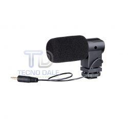 Microfone condensador BOYA - Condenser Mic - BY-V01