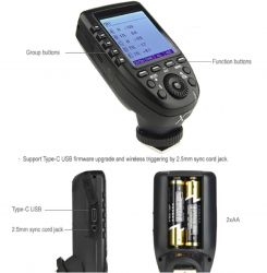 Radio Flash Godox Greika TTL - XPRO-C P/ Canon