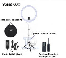"Ring Light Youngnuo 19"" 308 Com Tripé - 18,5W( 220V)"