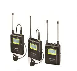 Microfone Profissional Sem Fio 2 Transmissores