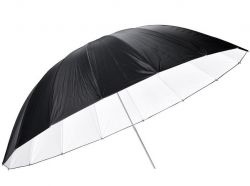Sombrinha Refletora Preta / Branca 190 Cm - Gigante