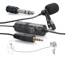 Microfone Lapela Cameras E Smartphones Greika Gk-lm 1