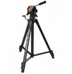 Tripe Videomate 538 Velbon Alt 61cm a 161cm  Suporta 3KG Cabeça Hidráulica Profissional para Foto e Video