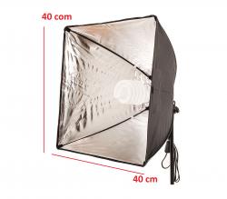 Kit de Iluminação 40x40 Cm  Soft Star Light para Luz Fria e Tripé