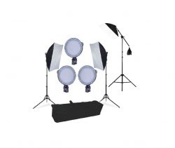 Kit Luz Continua Softbox 50x70 Luz De Ledmax45