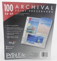 Porta Fotos 10x15 (46-6P) Seis Fotos - Folhas Plásticas